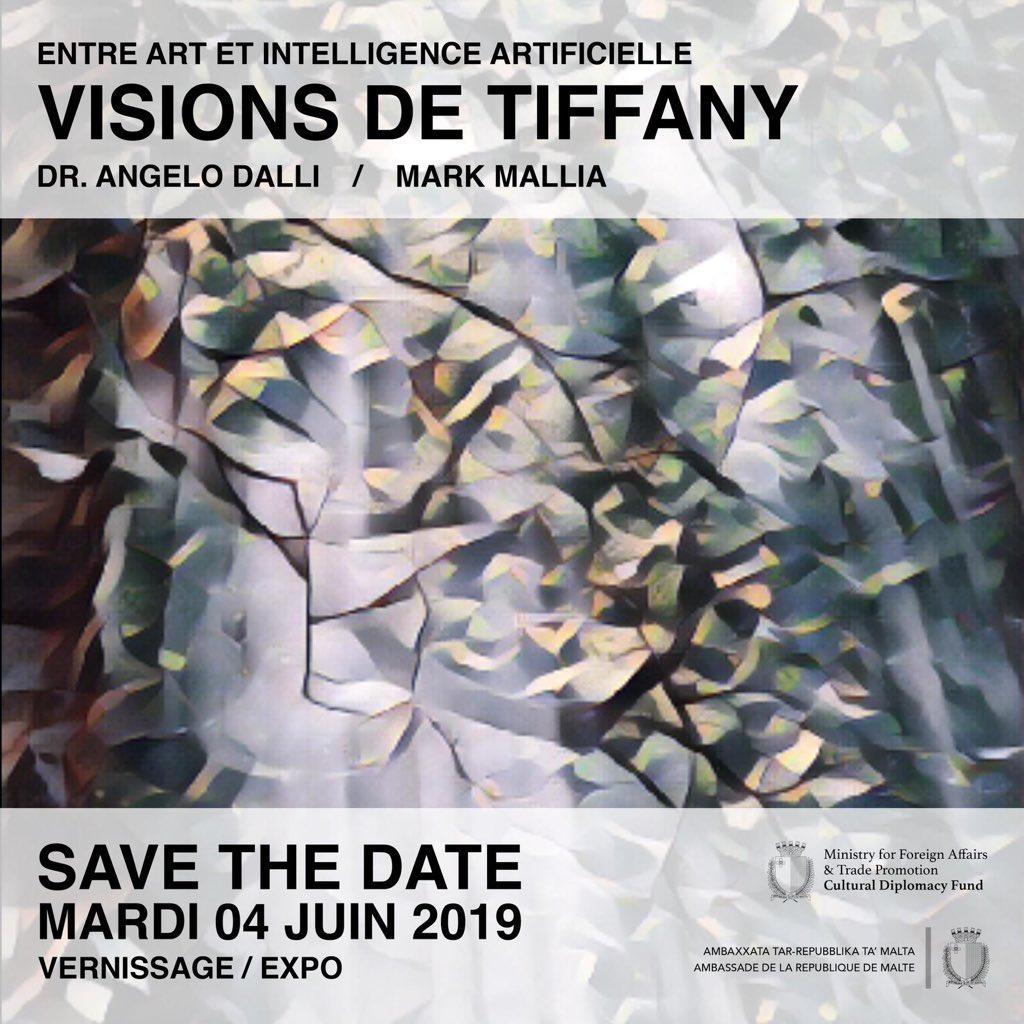 Visions De Tiffany – Paris Exhibition