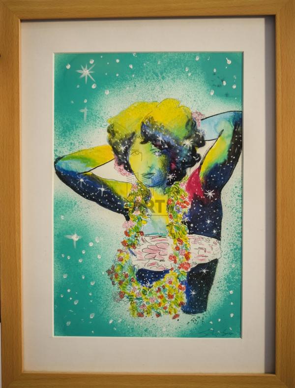 Disco Girl (Green)